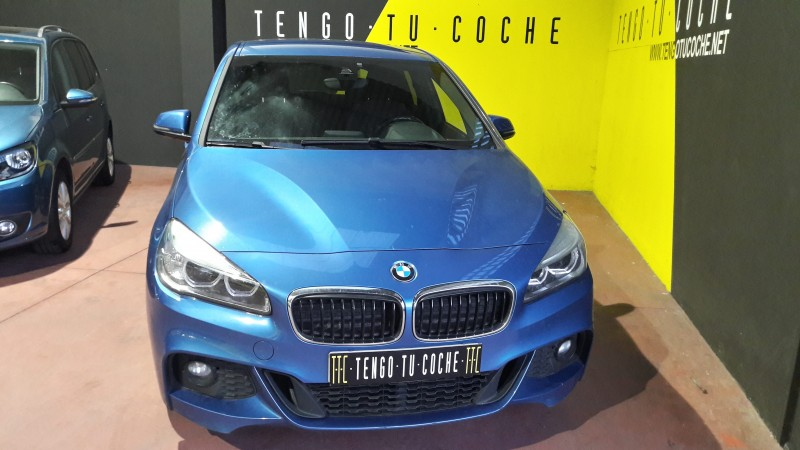 BMW 218D TOIRER M SPORT. C AUTOMATICO. FAROS LED, NAVE